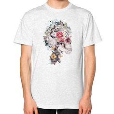 Skull XI Unisex T-Shirt (on man)