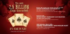 """""""High Roller Alex"""", it's time to play at SodaPoker.com"""