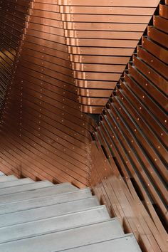 Optimist Design wraps Berlin's Red Bull Studios with copper striations - News - Frameweb