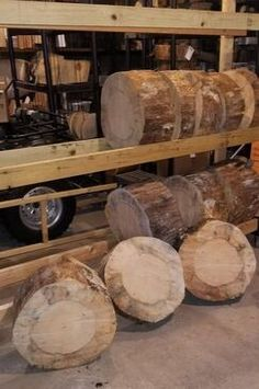 We are cutting some large pine logs for knife, axe and hatchet throwing targets. We will allow them to dry some before shipping. If you want to get notified when these are ready to ship, go to our Targets page and send us an email. Log Slices, Wood For Sale, Wood Slab, Logs, Rustic Style, Axe, Rustic Wood, Firewood, Target
