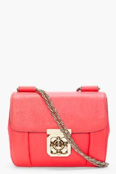 acdac780e063 Chloe - Red Elsie Evening Bag. Chloe Clothing