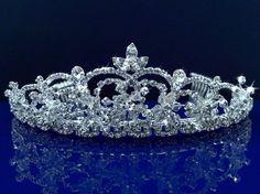 SC Bridal Wedding Tiara C6518 by SparklyCrystal, http://www.amazon.com/dp/B008CRBX0Y/ref=cm_sw_r_pi_dp_vkjrsb13DV3HD