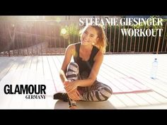 Bauch Beine Po-Workout mit Stefanie Giesinger I Summer Training I GLAMOUR Fitness Motivation - YouTube