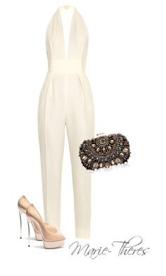 """""""#98"""" by styledbymarietheres ❤ liked on Polyvore featuring Gucci, Lipsy and Casadei"""
