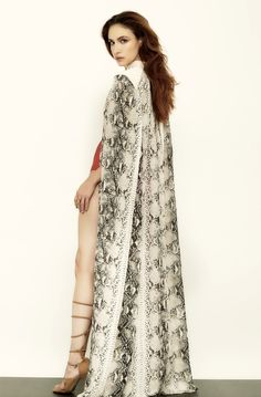 Snakeprint Cape by Carlton Jones.