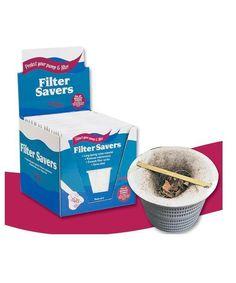 Sun Pool Products Filter Saver Skimmer Basket Debris Liner for Pool Skimmers