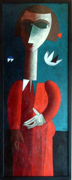 Inos Corradin. A great artist from my city in São Paulo - Brazil.