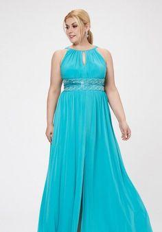 MARINA TURQUESA curvy vestidos