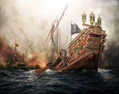 Batalla naval de Lepanto, 1571