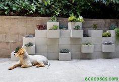 Reutilizar ladrillos y bloques de cemento | Ecocosas
