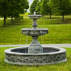 Paris Estate Two-tier Fountain