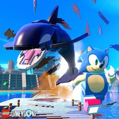 Whale, whale, whale... #LEGODimensions #BreakTheRules #MashupMadness #SonicTheHedgehog