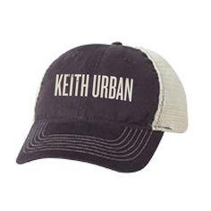 Keith Urban Logo Trucker Hat - Keith Urban Web Store