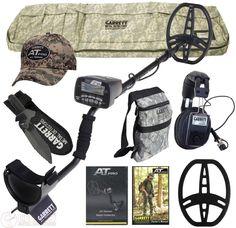 NEW Garrett AT Pro Metal Detector, Headphones, Digger, 2 Bags, Pro-Pointer AT ++ #Garrett