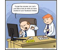 Social Media Presence Affects Job Hunting