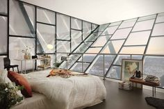 High-End Ski Jump Apartment in Oslo, Norway