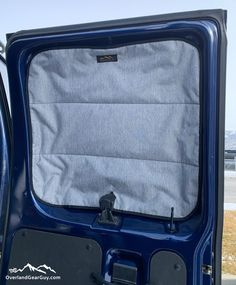 Our Ford Econoline Van Deluxe Insulated Magnetic Side Barn Door Window Covers help keep the inside temperature constant by keeping heat (or cold) from escaping or entering through the side door windows. The magnetic window covers provide privacy and blocks the light for stealth camping any time of day.