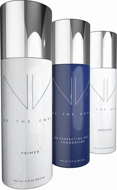 The brand new NV foundation spray mist with anti aging properties #nv #betheenvy #anti aging #antiageing