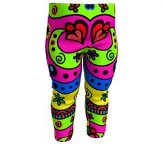 Retro Baby Leggings, Baby Leggings by Brittany Bonnell. Artwork in baby friendly sizes on our printed leggings for your little ones. Baby Leggings, Printed Leggings, Youth, Shop Art, Retro, Brittany, Kids, Clothes, Young Children