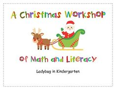 A Christmas Workshop of Math and Literacy is a fun packet that will sure keep your students busy during this holiday season. Santa's Workshop Interactive Read Aloud is fun with positional words. Students move Santa's elves around the workshop using positional words.