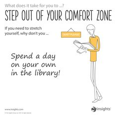 Step out of your comfort zone. Sunshine Yellow colour energy