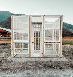 DIY Greenhouse Using old windows, building a greenhouse, how we built our vintage window greenhouse Old Window Greenhouse, Outdoor Greenhouse, Backyard Greenhouse, Greenhouse Plans, Shed Windows, Garden Windows, Garden Doors, Garden Ideas Along Fence Line, Recycled Windows