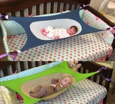 This newborn hammock attaches to your babies crib and is made to help reduce the environmental risk factors associated with SIDS (Sudden Infant Death Syndrome). By recreating and mimicking the benefic...