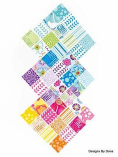 Fabric Moda Snap Pop Charm Pack 42 Piece by DesignsByDona on Etsy, $7.00