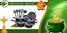 Dhanteras Special Offer ..!!! Give your Kitchen a Grand Look on this Dhanteras with huge discount offers on all products.   #KamMeBam Sale #KhushiyonKiThaili #Achhi_Adat_Behtar_Zindagi #Wholesale_Ke_Bhav_Ghar_Pe_Pao #FreeHomeDelivery #NoMinimumCart Iss Diwali Bas Order Kijiye!