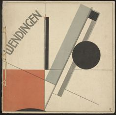 Wendingen, No. 11  El Lissitzky (Russian, 1890-1941)  with article by Dr. H. P. Berlage. 1921. Journal with one lithograph and line block cover
