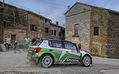 Skoda - Škoda Auto Fabia - Rally Croatia 2013 / Jan Kopecký, Pavel Dresler / European Rally Championship (ERC)