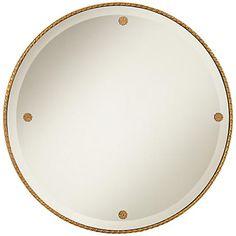 "Cooper Classics Keynes 29"" Round Decorative Wall Mirror"