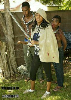 #Michonne #DoYouHaveAnyToothpasteLeft #TheWalkingDead #TheTalkingDead #AMC #BiteMe #deharo70