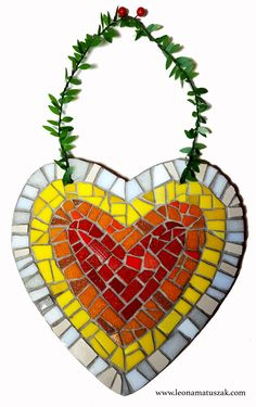 Heart Artwork, Mosaic, Wreaths, Unique Jewelry, Handmade Gifts, Etsy, Signs, Shop, Kid Craft Gifts