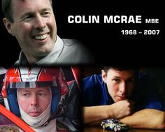 I actually loved watching Colin McRae drive. He was/is a World Rally Championship legend. Richard Burns, Subaru Wrc, Types Of Races, Colin Mcrae, Famous Sports, Sport Hall, World Of Sports, Sports Stars, Rally Car