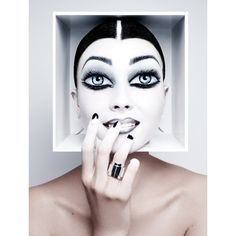 Rankin - Portfolio | Beauty ❤ liked on Polyvore featuring faces