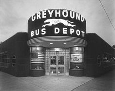 Decco Greyhound Bus Depot