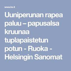Uuniperunan rapea paluu – papusalsa kruunaa tuplapaistetun potun - Ruoka - Helsingin Sanomat