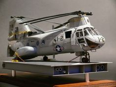 "Armorama :: CH-46E Academy 1:48 This is awesome!  Anyone that knows, this aircraft was designated as 1-2 due to the pilot being the squadrons CO (LtCol Todd Oneto).  His call sign was ""one to"".  Great model."