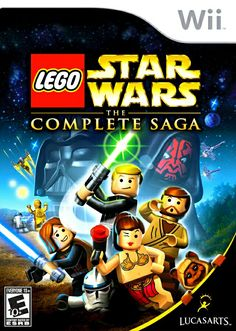 Lego Star wars The Complete Saga Wii video game