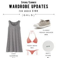 PARTY DOWN! Spring/Summer Wardrobe Updates For Under $100