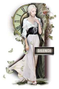 """Silence"" by alicja2204 ❤ liked on Polyvore featuring art"