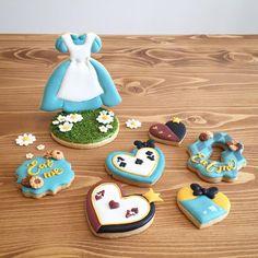 アイシングクッキー icing cookies アリス