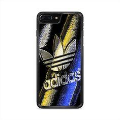 Adidas Blue Yellow Grunge iPhone 7 Plus Case | Caserisa