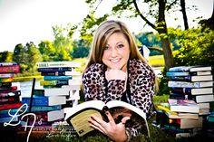 Senior Photos With Books