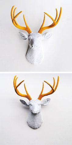 Stag's Head Wall Art | dotandbo.com