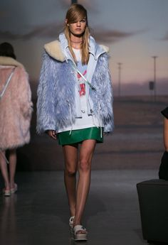 A look from the Coach Spring 2015 RTW collection.