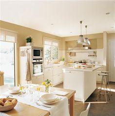 El office: cocinar, comer y compartir · ElMueble.com · Cocinas y baños