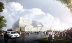 Competition Entry: HAO + AI Envision Bolong 3D Movie Museum and Mediatek for Tianjin