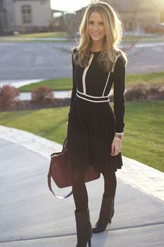 25 Ways to Style: i had a barbie doll dress like this. Still love this look.